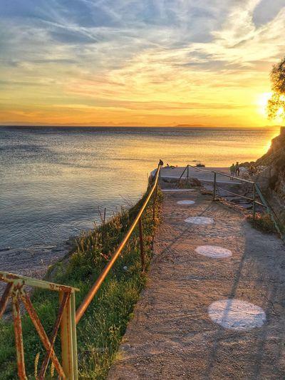 Sea Sunset GREECE ♥♥ First Eyeem Photo