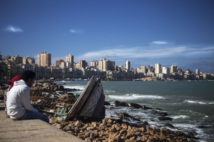 Alexandria Alexandria Egypt Blu Skies Landscape_Collection Landscape_photography Looking Out Over The Sea Love Couple Seascape Seascape Photography Shipwreck Shipwreck Beach Stormy Sea Straycats