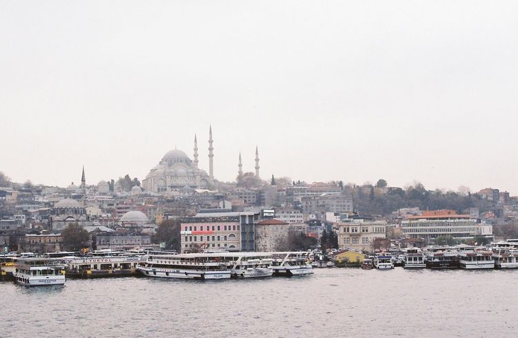 Istanbul Turkey Eminönü/ İstanbul Canon Analog 35mm