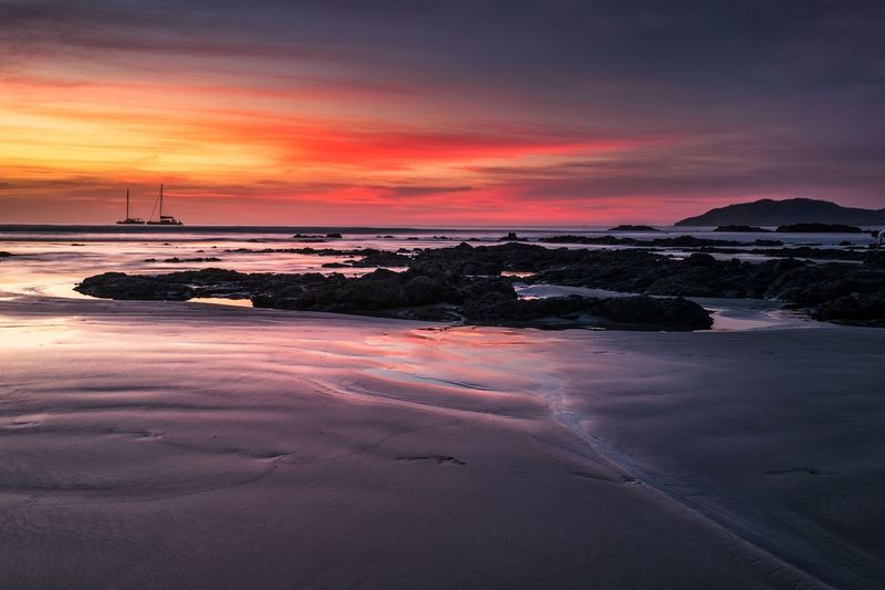 Sunset Landscape Nature Sky