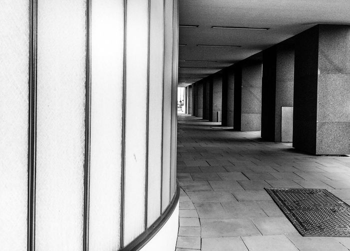 Arcades Architecture Building Built Structure Empty Glass - Material Wall Willy-Brandt-Strasse B&w Street Photography The Architect - 2016 EyeEm Awards