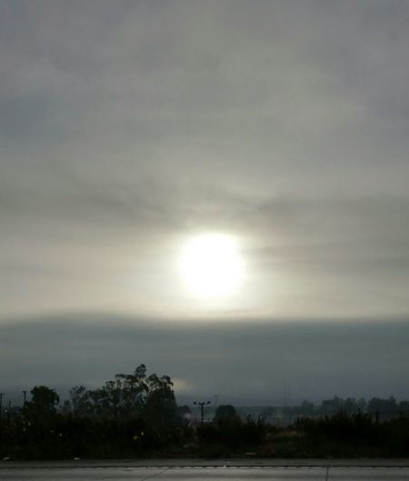 Sunrise on the 15N. Shades Of Grey Good Morning World! Love The Morning Air