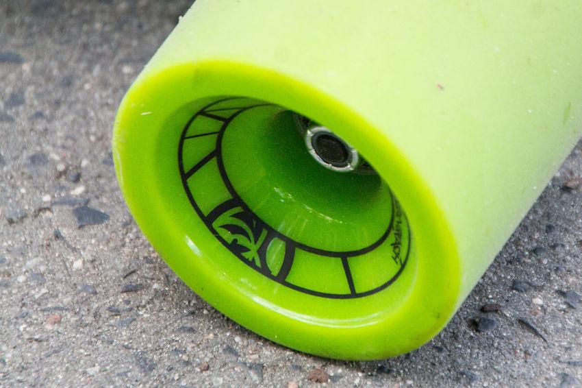 Close-up Green Color Plastic