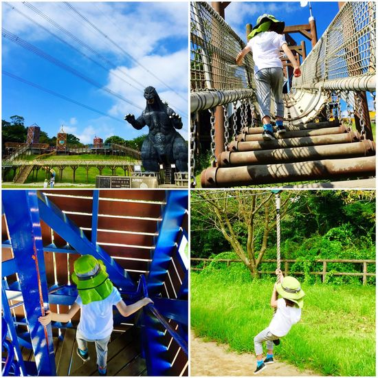 今日もいいお天気!元気いっぱい遊ぶ!^^ Playground Children Playing Walking Around Athletics