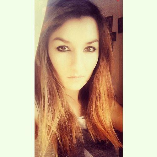 Sfruttare i propri Tratti Esotici . Exotic Features eyeliner eyes browneyes sun sunlight sunnyday instaphoto instagood sole caldo Turin Italy egyptian look