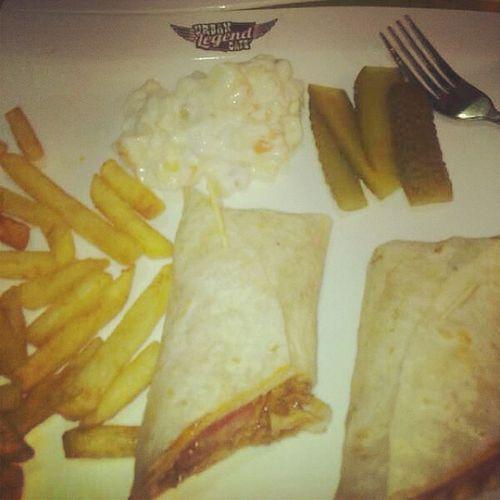 İşte bunu seviyorum Urdanlegend Cafe Mexicanwrap Wrap mexican küçükpark bornova eat izmir
