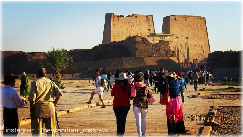 Luxur , Egypt Egypt Landscapes Beginner First Eyeem Photo Turist Eskandrani_masrawi Temple