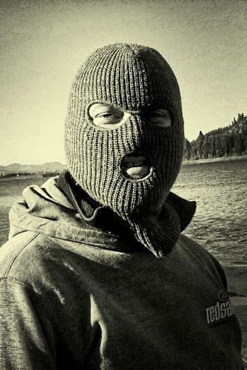 Ski Mask Fishing Foster Lake Mask