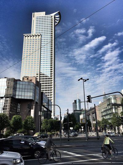 Skyline in Frankfurt Skyline Frankfurt Am Main Skyscrapers
