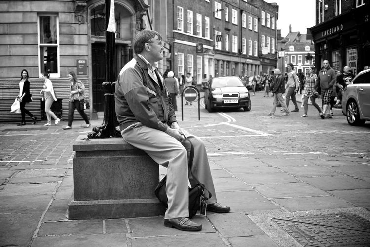 Urban Life Street Photography Black And White Monochrome