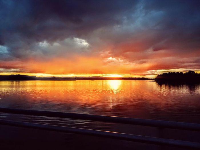 Leksand Summer Sunset First Eyeem Photo