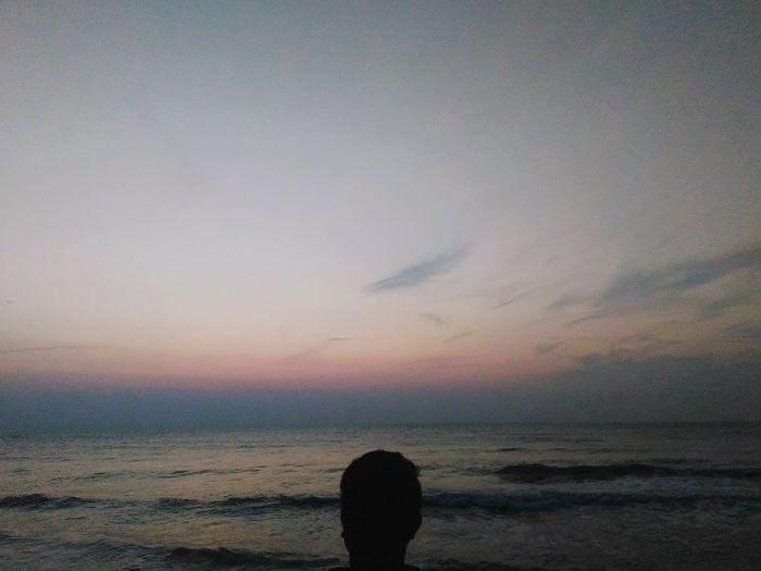 Goodmorning, folks ! Gooddaysir Beach Calm Relax Waves Beachsand Beachphotography Sunrise Morning First Eyeem Photo