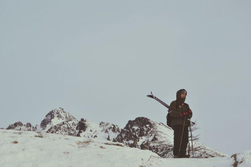 Pow day Skiing ❄