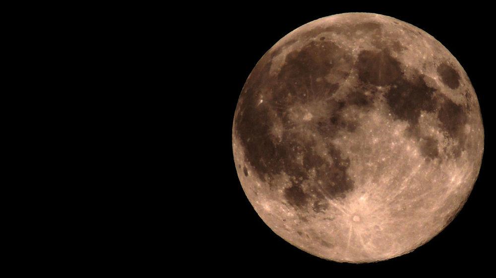 Moon Měsíc Vesmír