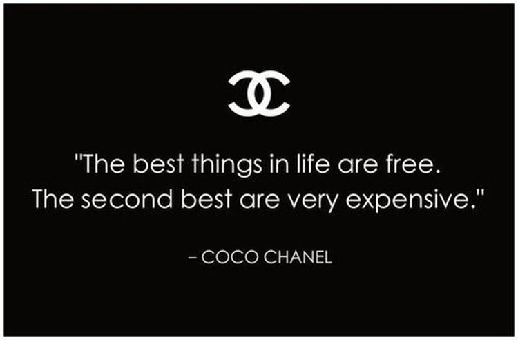So True. Coco Chanel Life