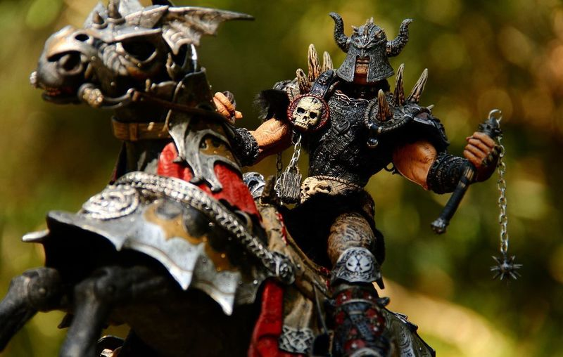 Spawn the Bloodaxe and Thunderhoof Actionfigure Ata_dreadnoughts Toy Photography Spawn Vikingspawn