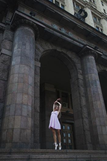 Москва бауманская балет пуанты Portrait Balete First Eyeem Photo