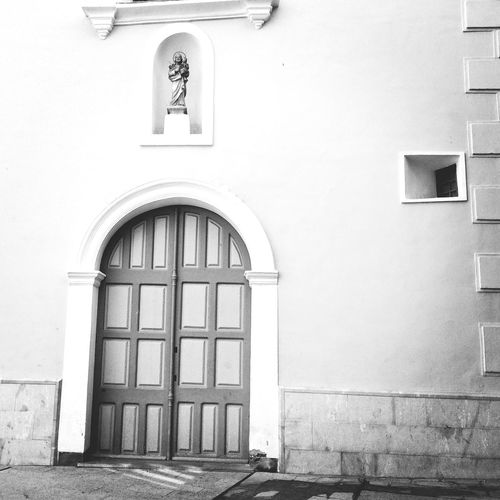 My City Blackandwhite Black & White Temple