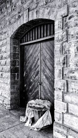 Door Old No People Nort Outdoors Building Exterior Architecture HTConeA9 Mexico 100years Norte Wood Photographic Memory Built Structure Day