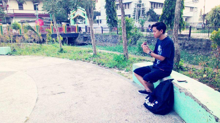 Relaxing With Icecream🍦 Enjoying Life