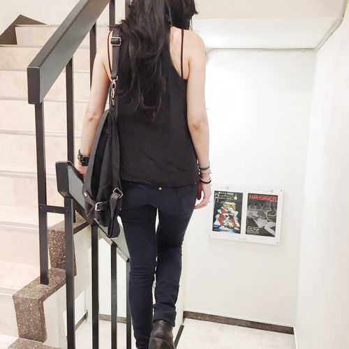 ギーガーだいすき Hrgiger Exhibition Stairs Back Artgallery