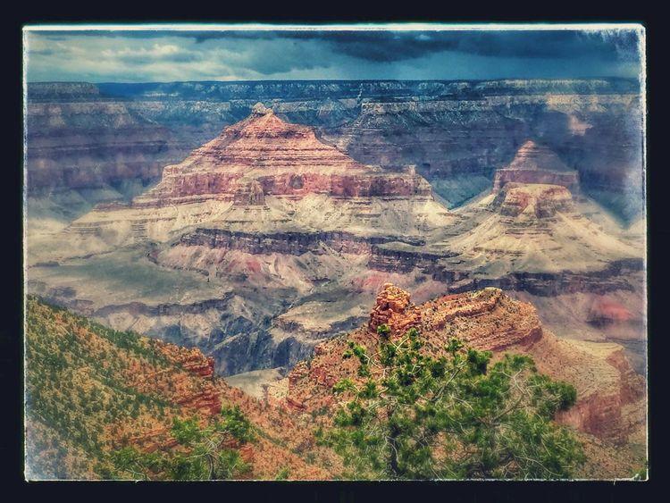 Grand Canyon Nature Nice Views Enjoying The Sights