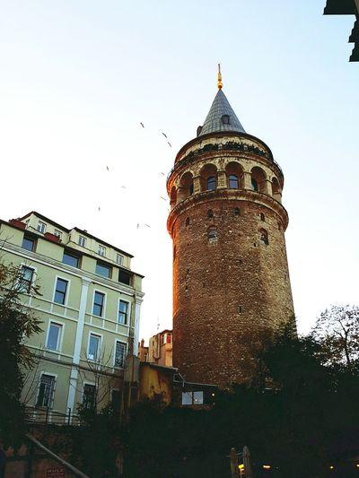 Galata Galatatower Istanbuldayasam Istanbul Turkey