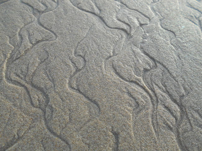 Backgrounds Beauty In Nature Close-up Day Detail Elevated View Full Frame Natural Pattern Nature No People Outdoors Sand Scenics Shore Tranquil Scene Tranquility