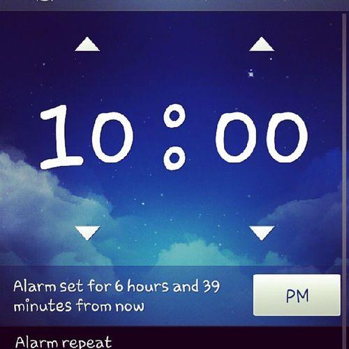 Setting up mi alarm fer latur shift!! 6hours left .. Callcentrelife CallGirl Tmo CSR