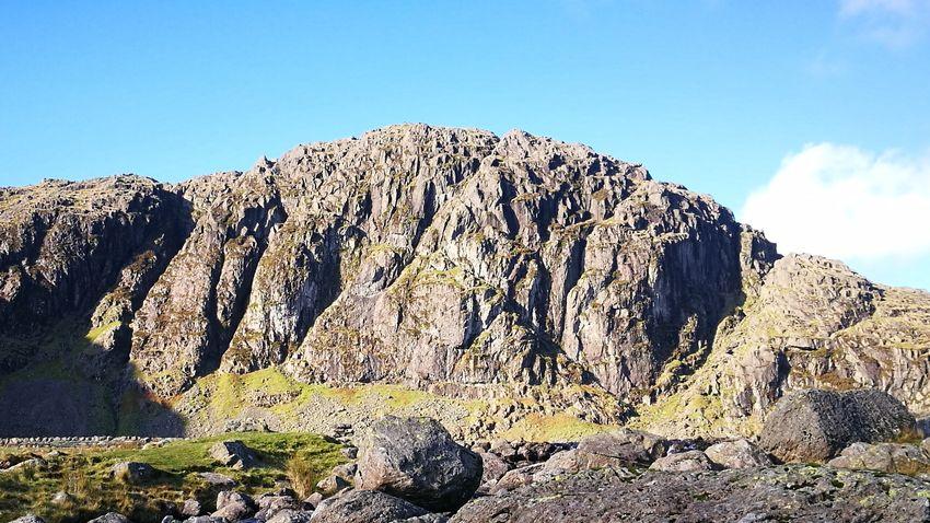 Jacks Rake Pavey Ark Great Langdales The Lake District  Cumbria England UK Go Higher