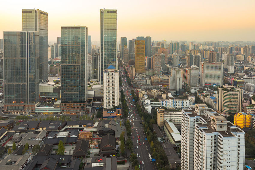 central city in chengdu Chengdu Apartment Architecture Building Building Exterior Built Structure Central City Central City Tower City City Life Cityscape Financial District  High Angle View Modern No People Office Office Building Exterior Outdoors Residential District Sky Skyscraper Tall - High Tower Urban Skyline