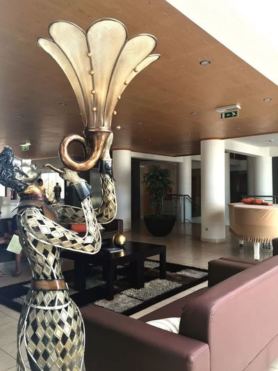 Hotel Foyer Indoors  Home Interior Fashion Vase Modern Luxury Flower No People Domestic Room Day
