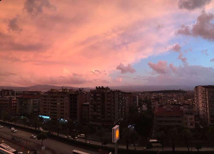 Battle Of The Cities My Favorite Place in Aydın, TURKEY. ❤️ Sunset Sky City Cloud - Sky Tall - High City Life Cloud Illuminated Residential District Architecture Building Exterior Built Structure Cityscape Road Development Office Building Urban Skyline Outdoors Wide Shot Skyscraper