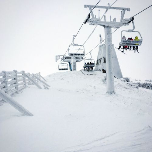 It's Cold Outside Skiing Alpineskiing Hafjell Norway Frozen
