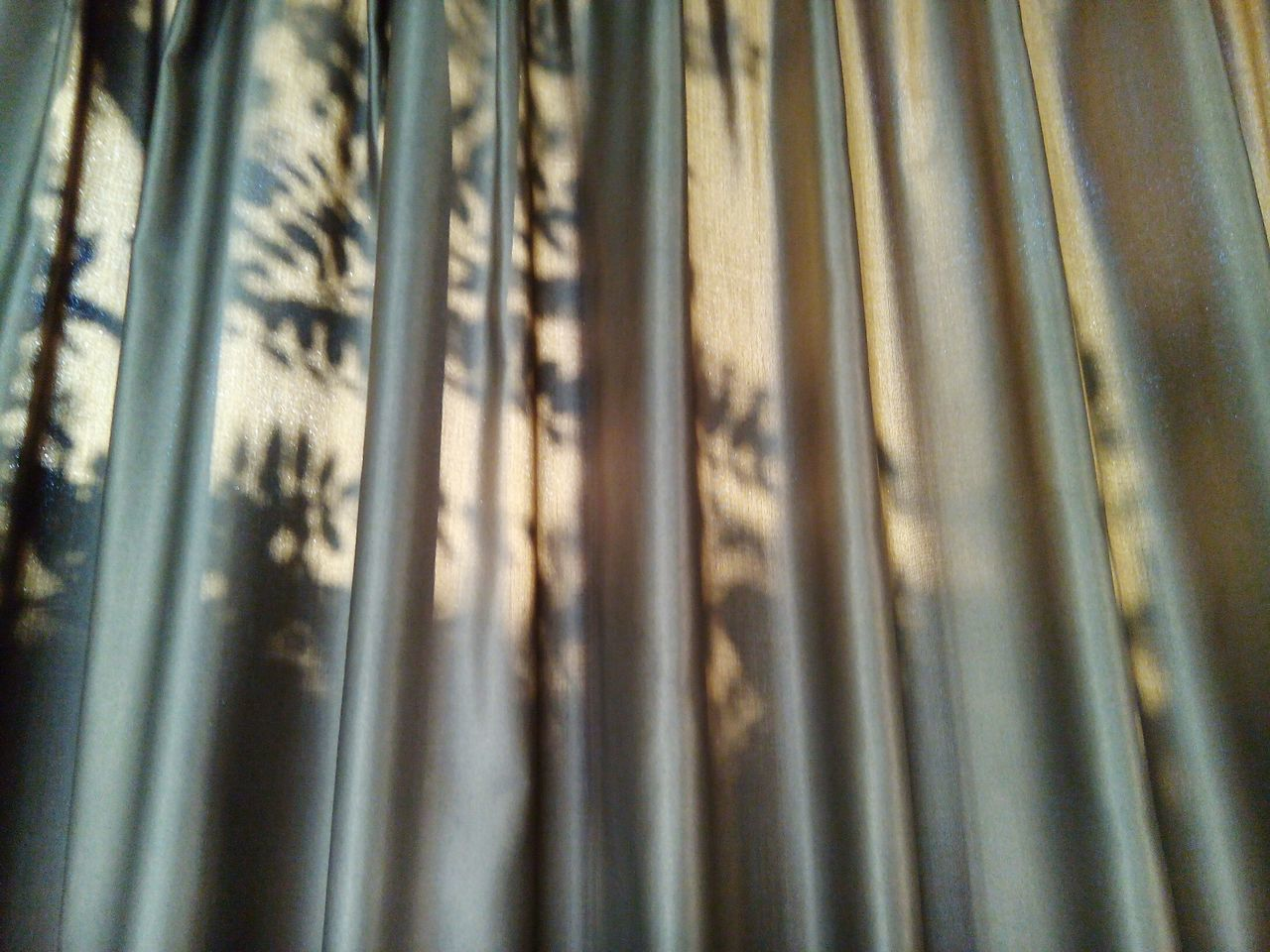 full frame, backgrounds, close-up, no people, day, curtain, bamboo - plant, drapes, outdoors, corrugated iron, nature