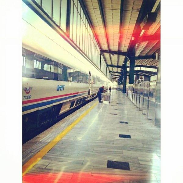 TCDD Ankara Photooftheday Speedtrain konya trip
