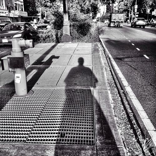 Street Photography Shadow-art Mobile Art Hello World