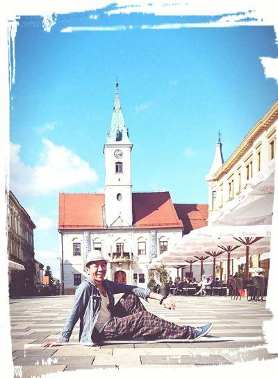 People And Places Me. Tourist VARAZDIN, CROATIA