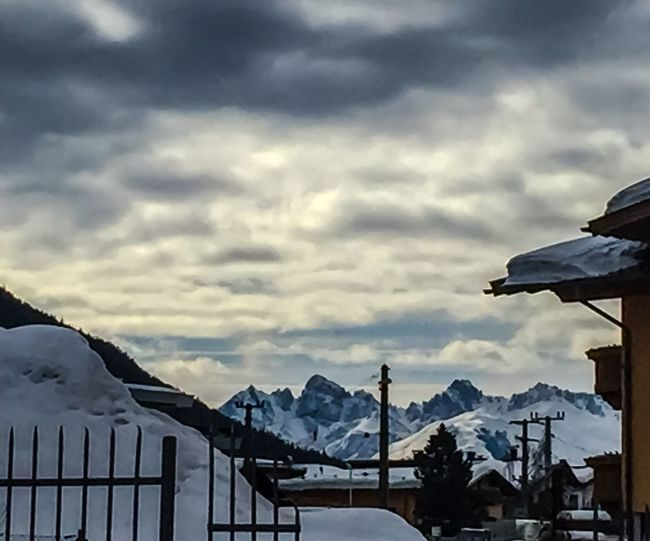 Snow at the Alps EyeEm Best Shots EyeEm Nature Lover EyeEmBestPics EyeEm Best Shots - Nature Mountain Snow Cloud - Sky Weather Mountain Range Sky Cold Temperature Winter Nature Outdoors No People Beauty In Nature Day Scenics