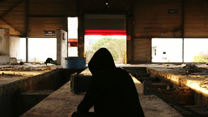 Me Sitting Warm Clothing Adults Only Adult Built Structure City People One Man Only Day Real People Outdoors Social Issues Urbex Men One Person Bench Shadow Nature Explore