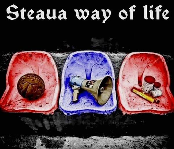 Ultras Steaua Bucuresti Hooligans Awaydays Against Modern Football Hooligans Hools Old School Pyro Is Not A Crime