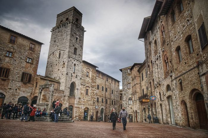 Tuscany Toscana EyeEm Selects Architecture Travel Destinations Built Structure History Cloud - Sky Building Exterior Day People Real People Outdoors Sky