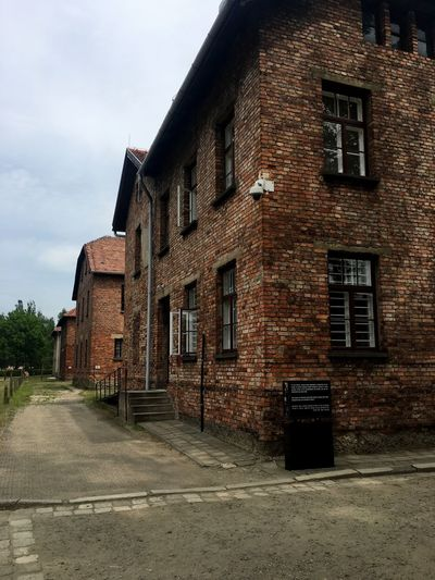 Architecture Building Exterior Built Structure No People Road Sky Outdoors Day Like Aushwitz Poland Followme