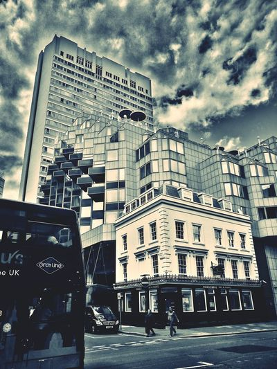EyeEmNewHere Cloud - Sky Architecture Sky Built Structure Building Exterior Outdoors City Day People Paddington Station London Weekend Contrast Of Shadows The Week On EyeEm