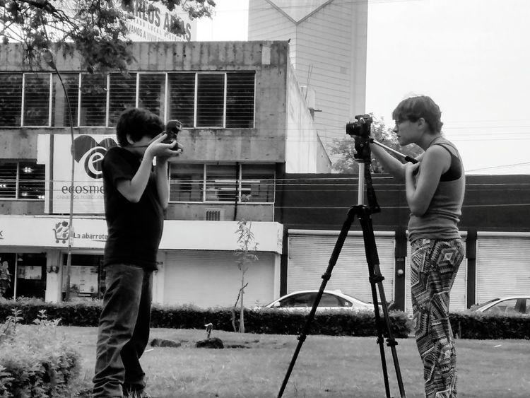 Filmando ando,,,,,,, Enjoying The Sun Taking Photos Me, My Camera And I Blackandwhite Photography