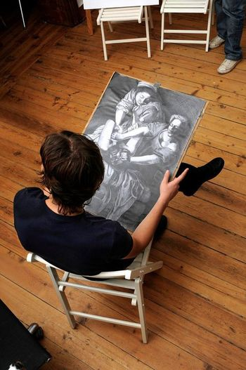 with my drawing 3years ago :) Drawing Draw Model Hi!