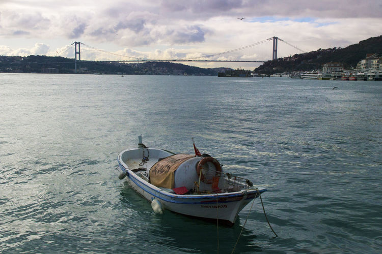 Boat in a sea