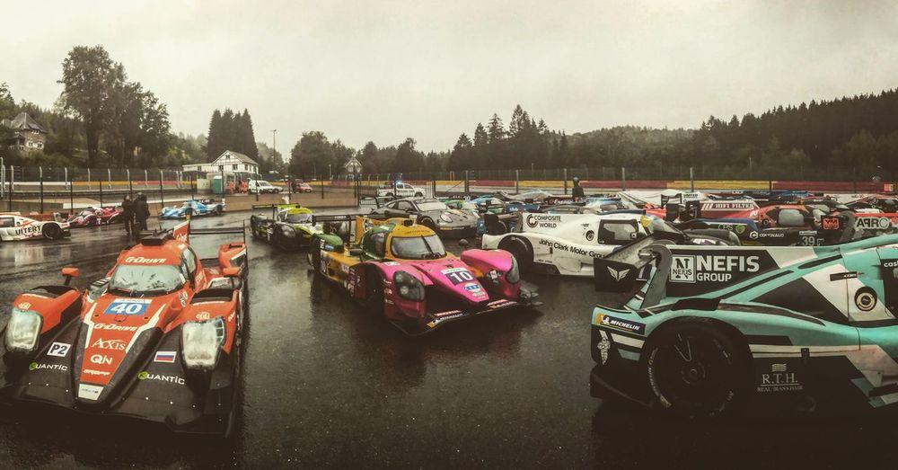 4 Hours ELMS at circuit de Spa Francorchamps Greysky Parc Ferme Race ELMS Hypercar Car Day