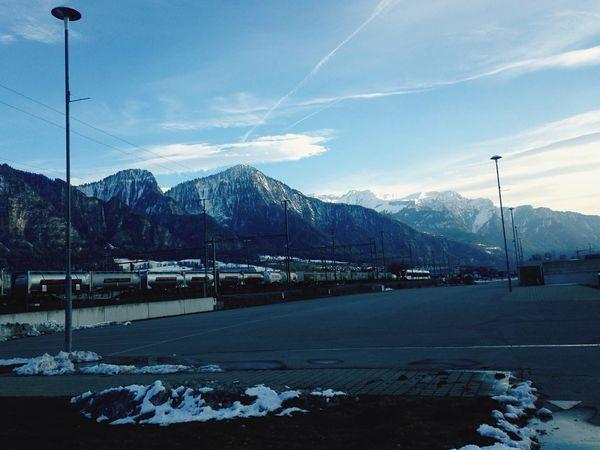 Schweiz Outlet Berg View First Eyeem Photo