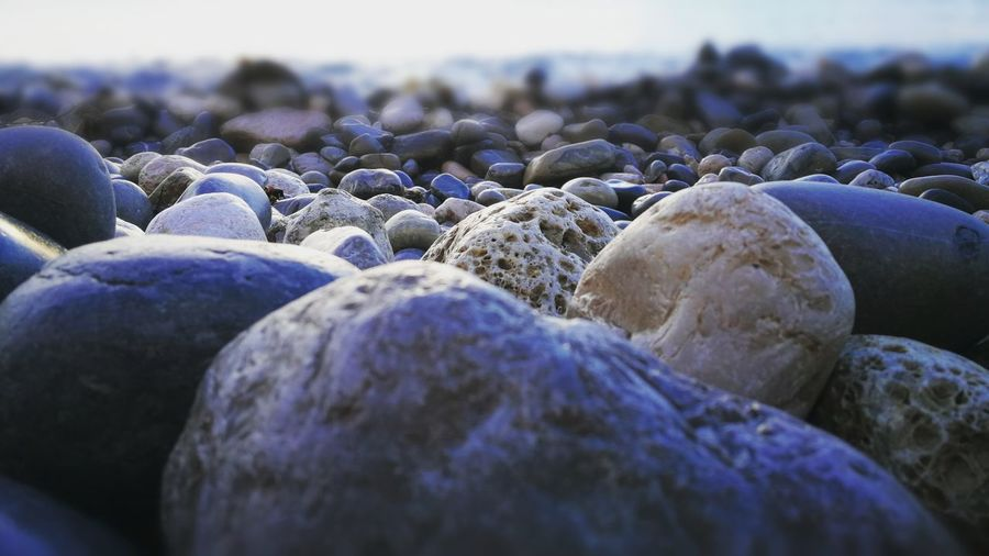Beach Pebble No People Nature Day Outdoors Close-up Beauty In Nature Pebble Beach Freshness Sea